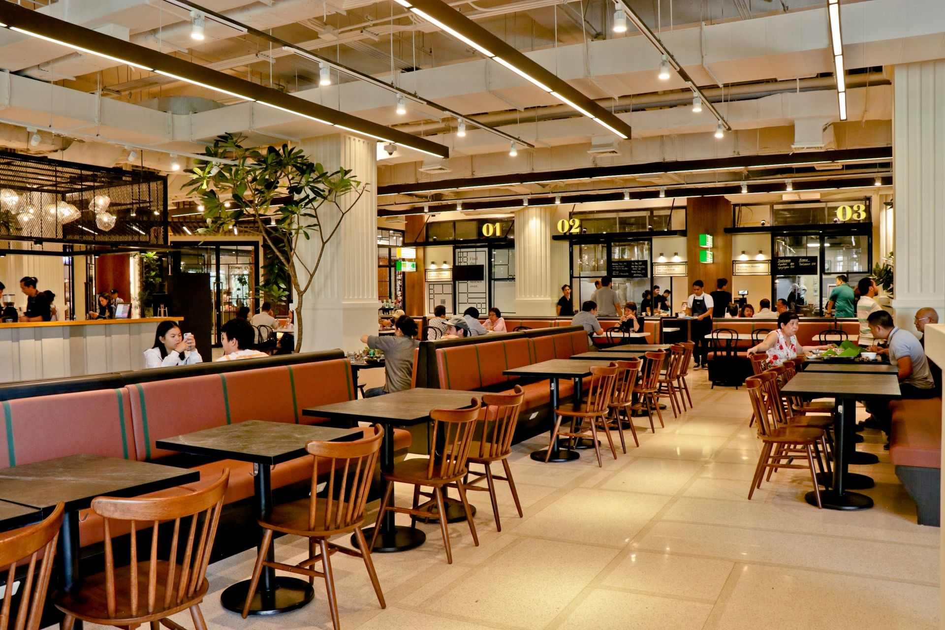 Whet Your Appetite: The Grid Food Market Opens at Rockwell