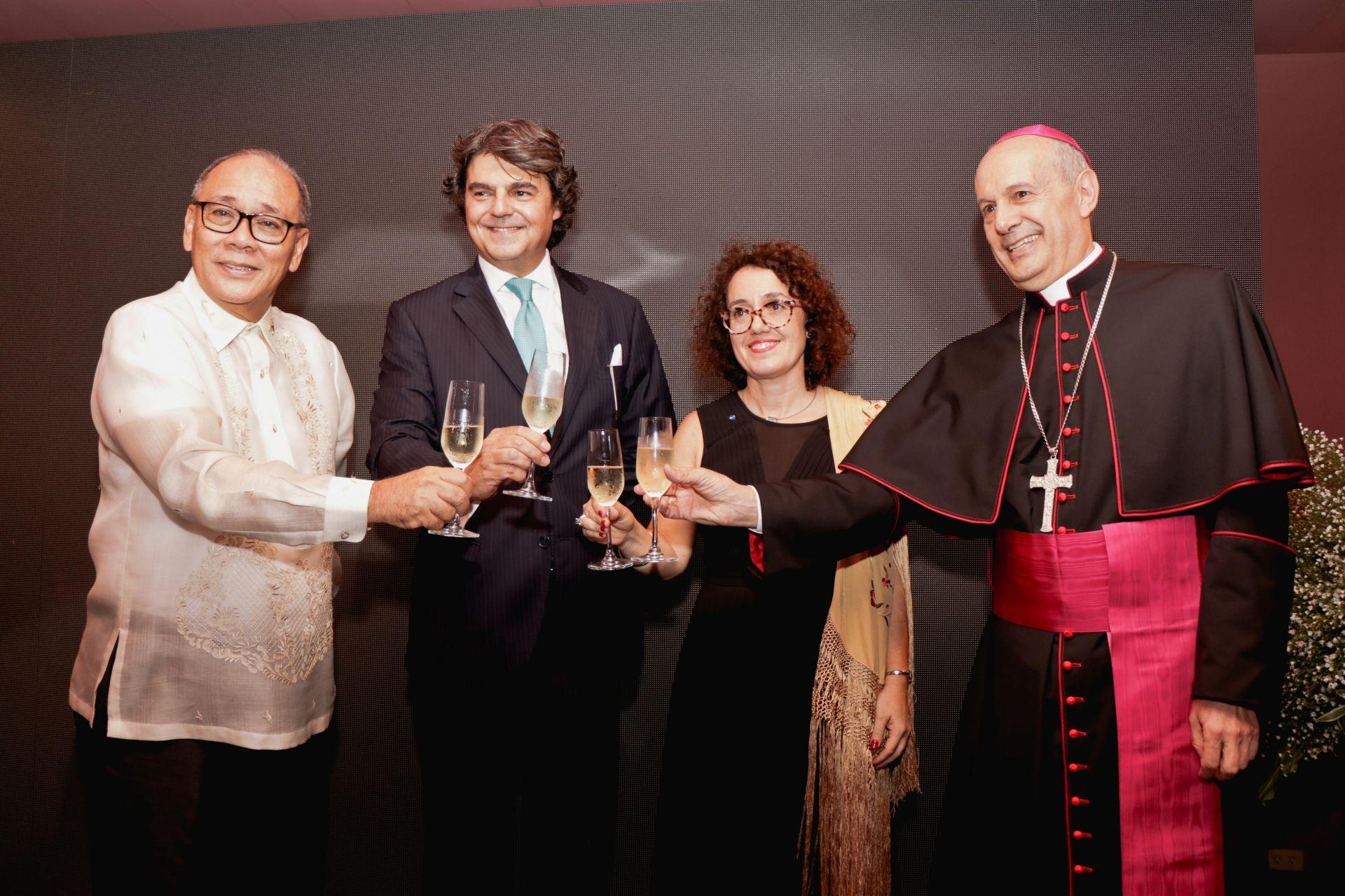 Embassy Of Spain Hosts A Celebration Of Fiesta Nacional de España At The Ambassador's Residence
