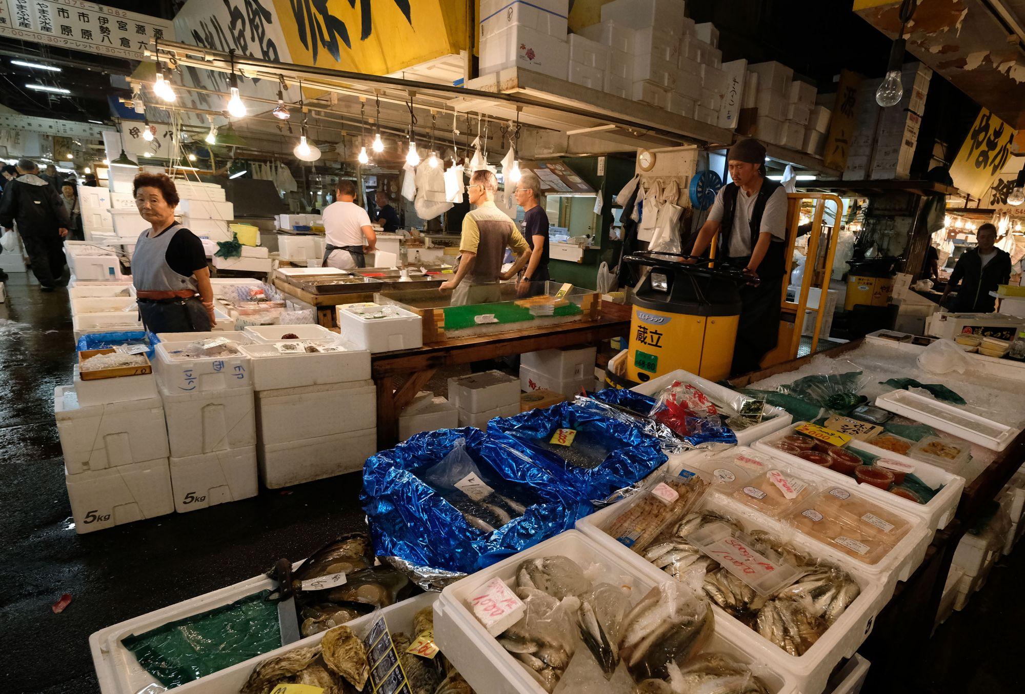 Fishy Facts: Tokyo's Tsukiji Market In Figures