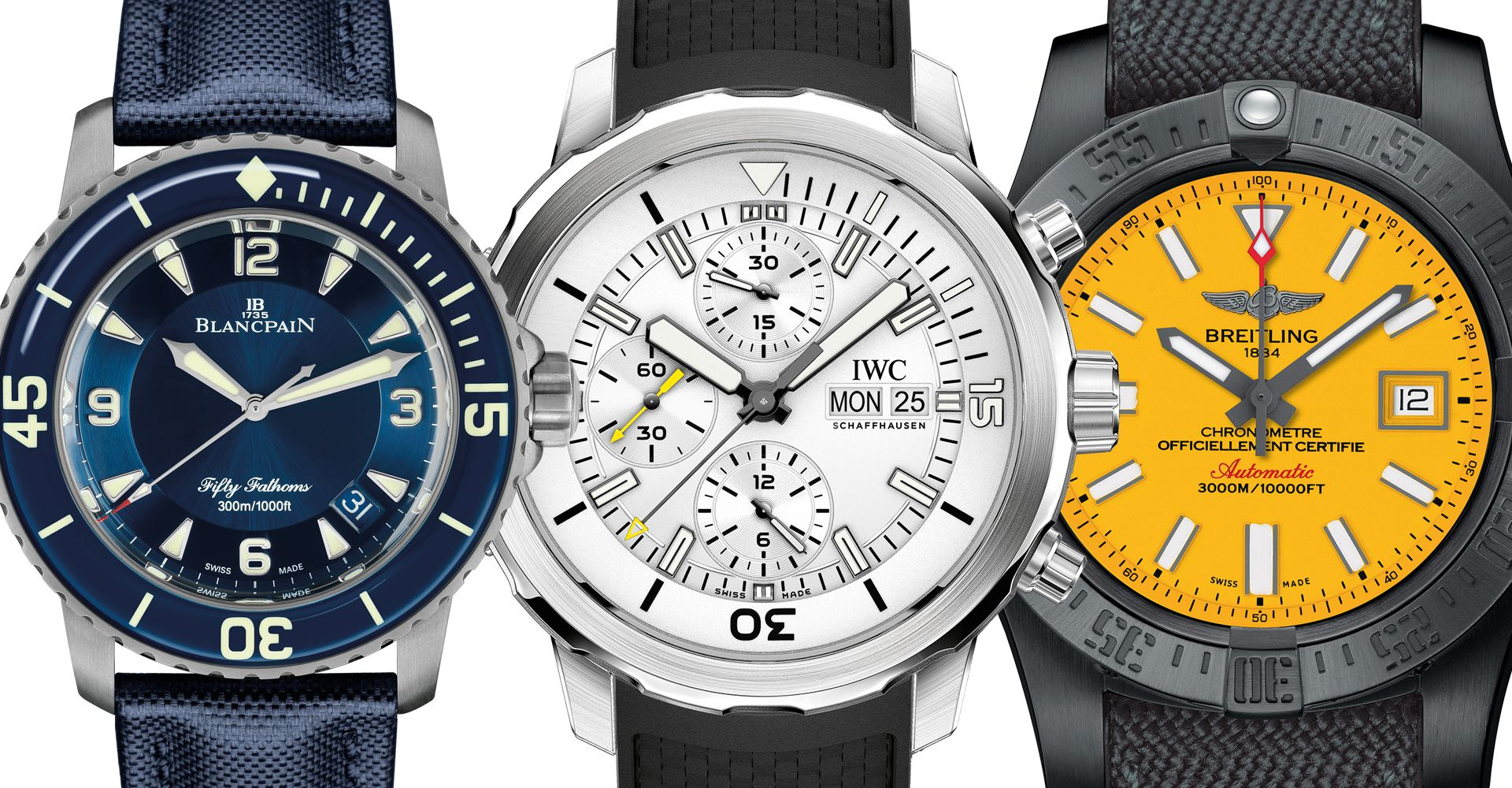 Take A Plunge In Any Of These 11 Diver Watches