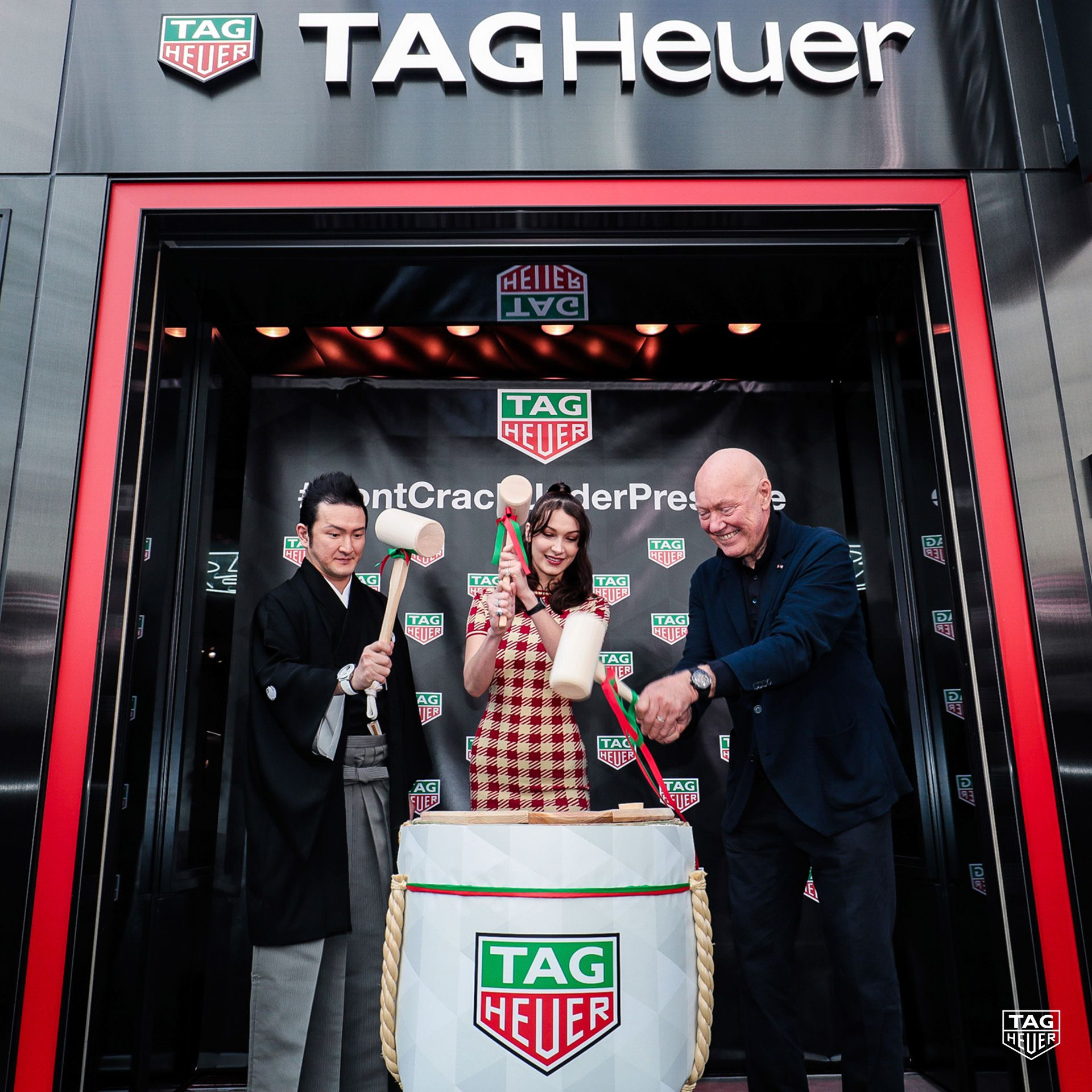 TAG Heuer Opens Modular Ginza Store