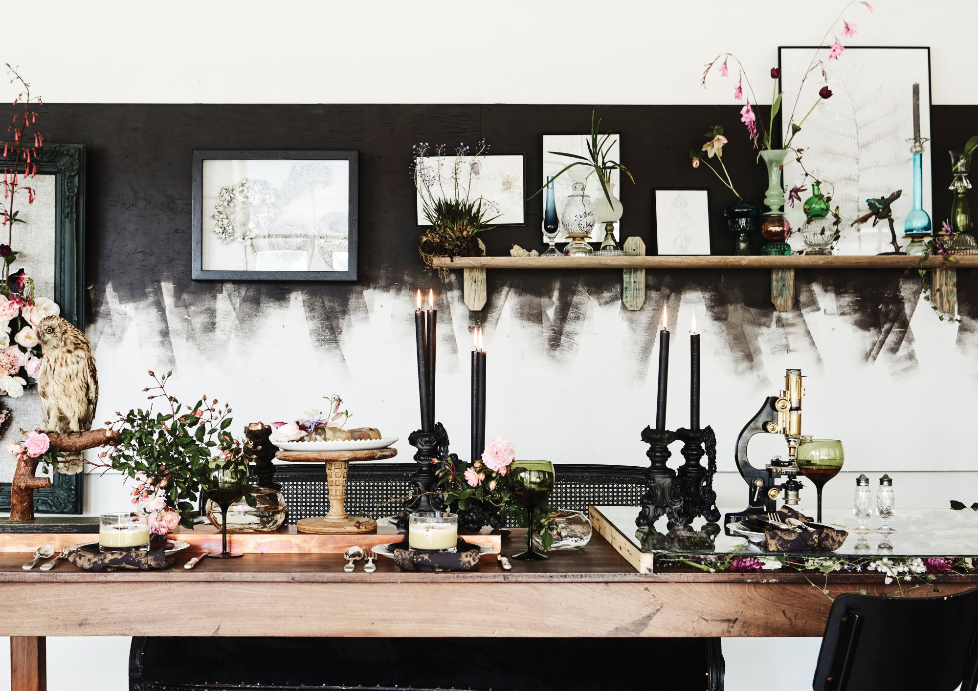 Mood Board: Flower Fantasy