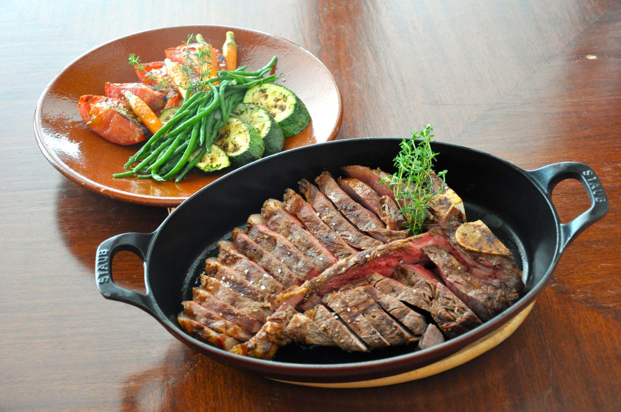 Curb Your Steak Craving At Cirkulo
