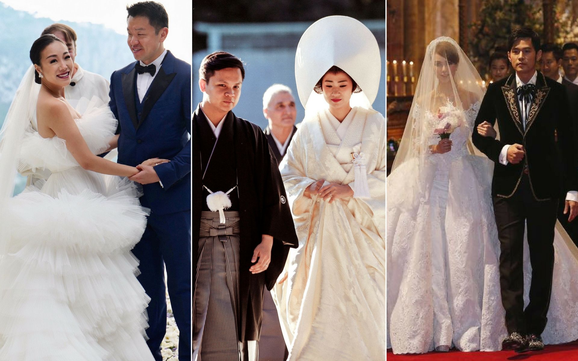 12 Prominent Asian Weddings To Remember For All Time Philippine Tatler