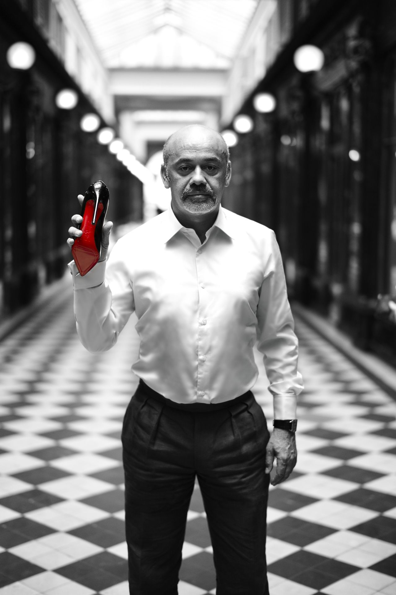 Christian Louboutin: Heel To The King