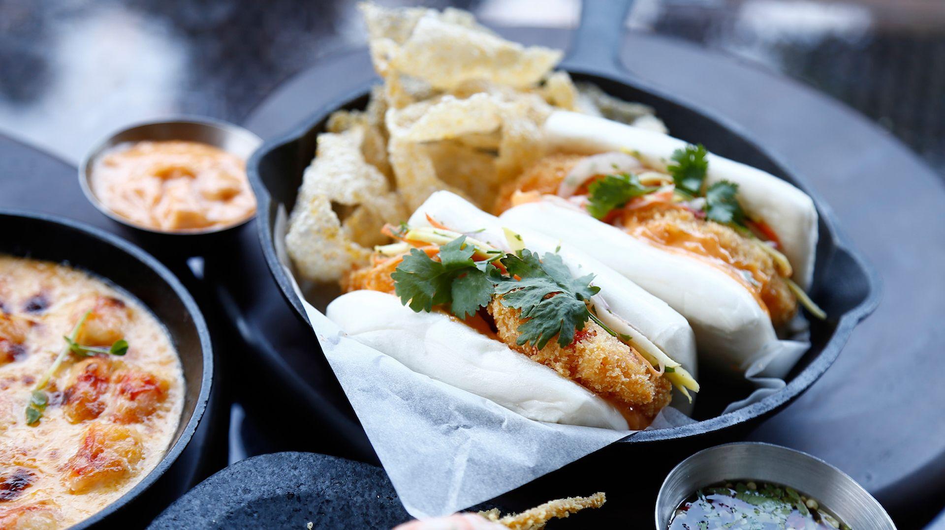 Sustainable Shrimp At Marriott Café