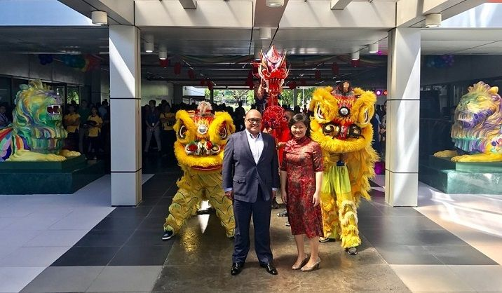 HSBC unveils the Pride and Unity Lions in their new home in Manila