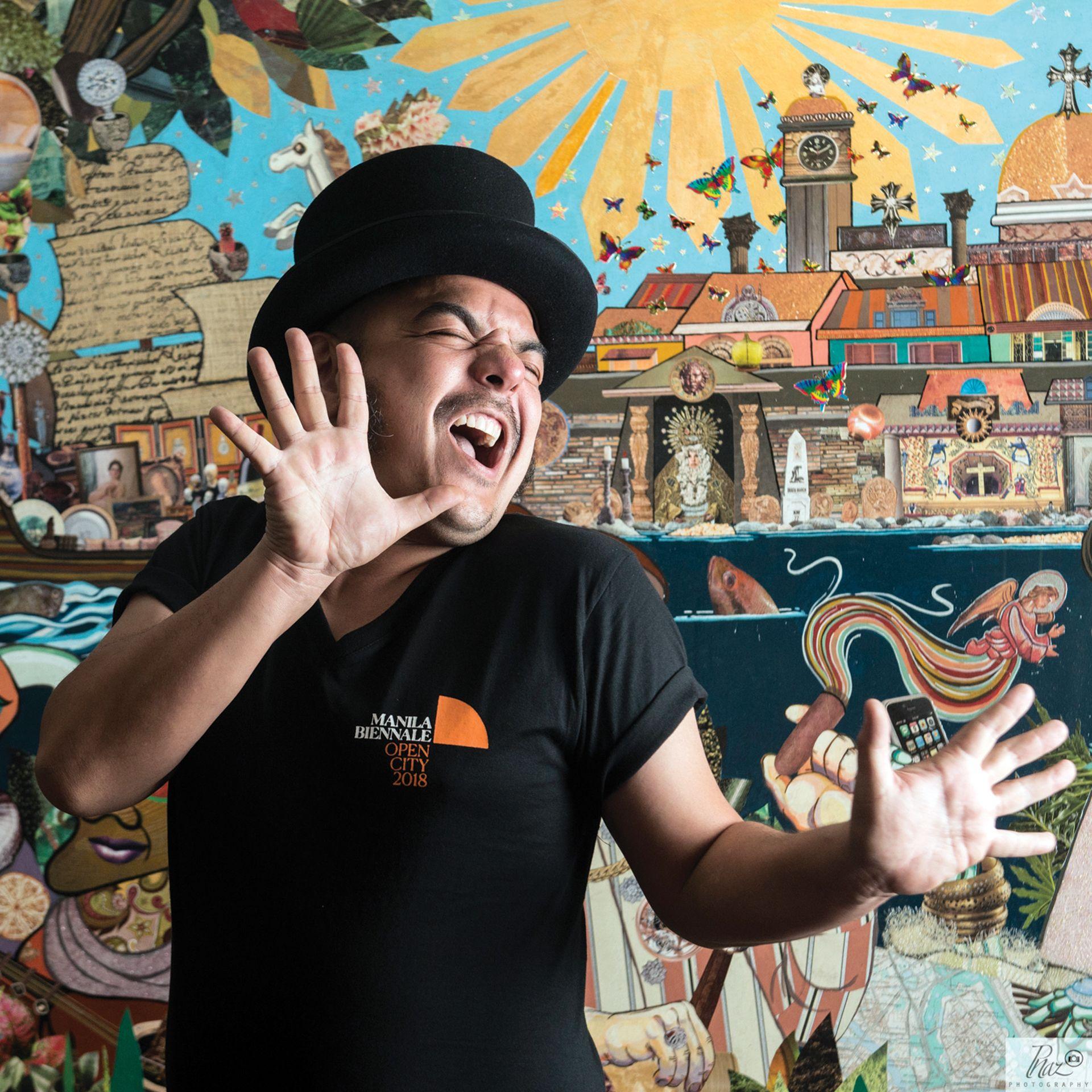 Carlos Celdran On The Manila Biennale