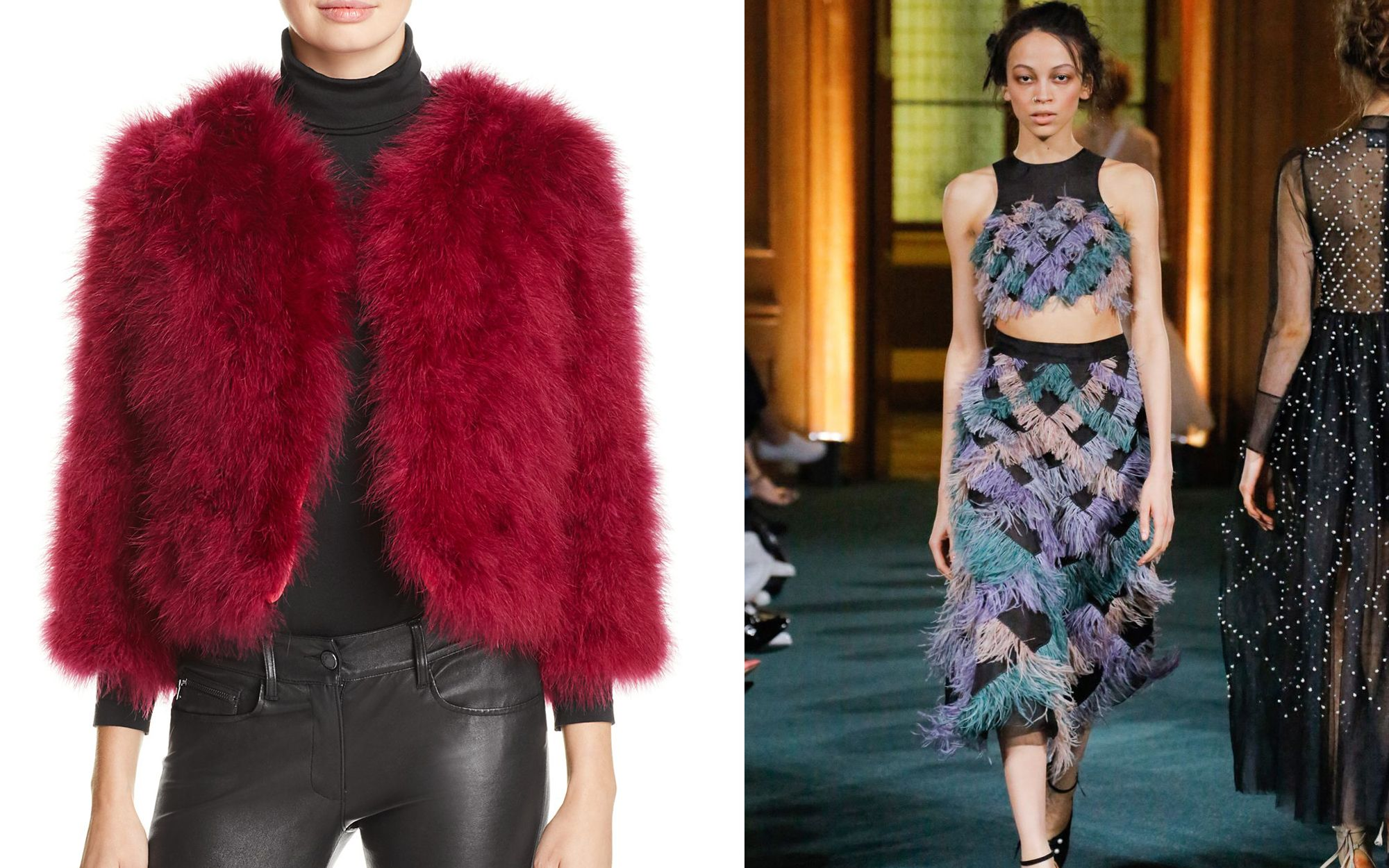 Tatler Style Tips: How To Wear Feathers