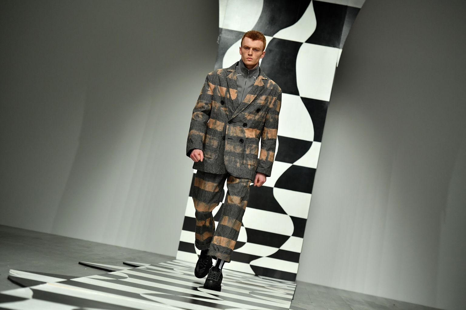 Outerwear and out there: London wraps up men's fashion week