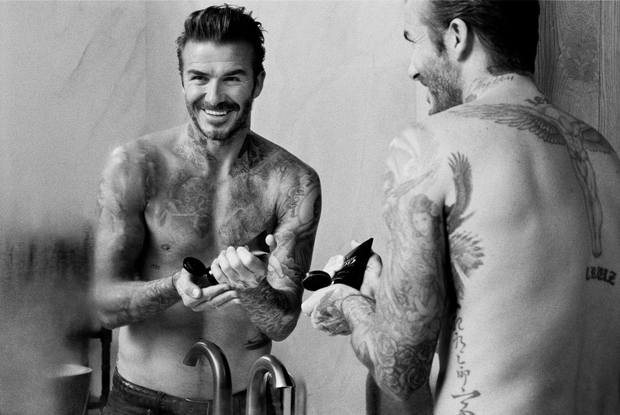 David Beckham launches debut men's grooming brand