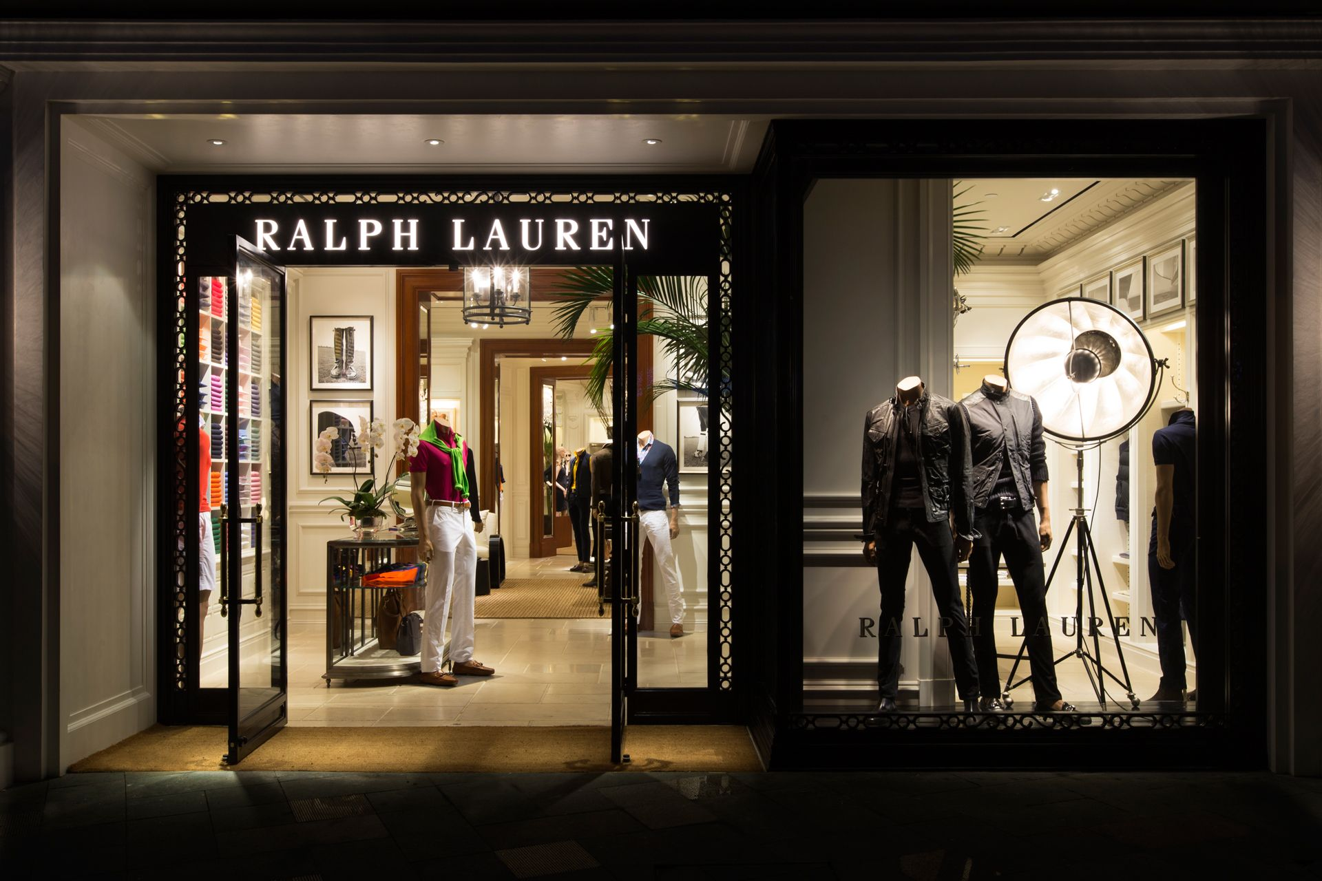 bcce75f94720 In Fine Style  Ralph Lauren Boutique Opening   Philippine Tatler