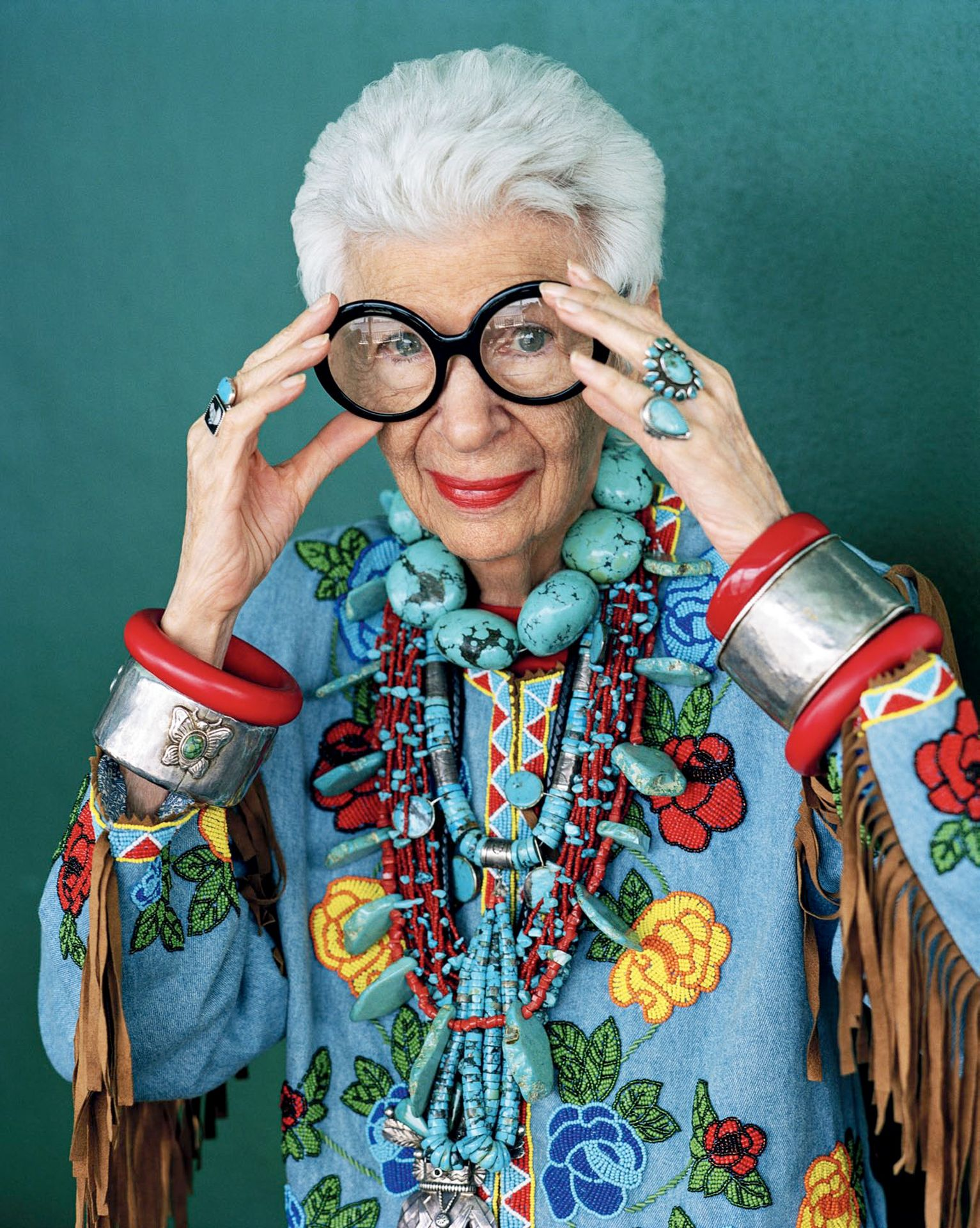 Iris Apfel: Behind the Specs