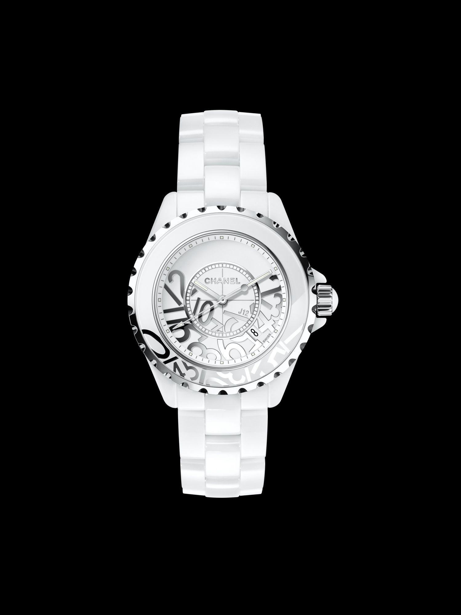 9a5d98e318516 Chanel Celebrates Street Art With New  J12 Graffiti  Watch ...