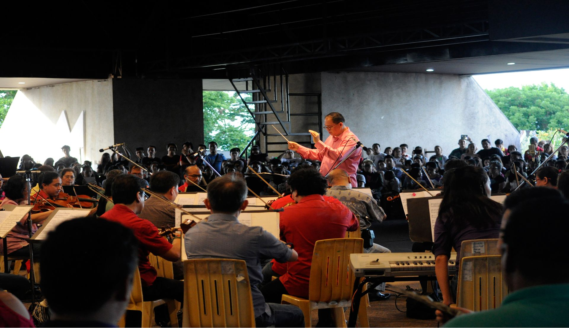 The Philippine Philharmonic Orchestra Performs A Sunset Concert At