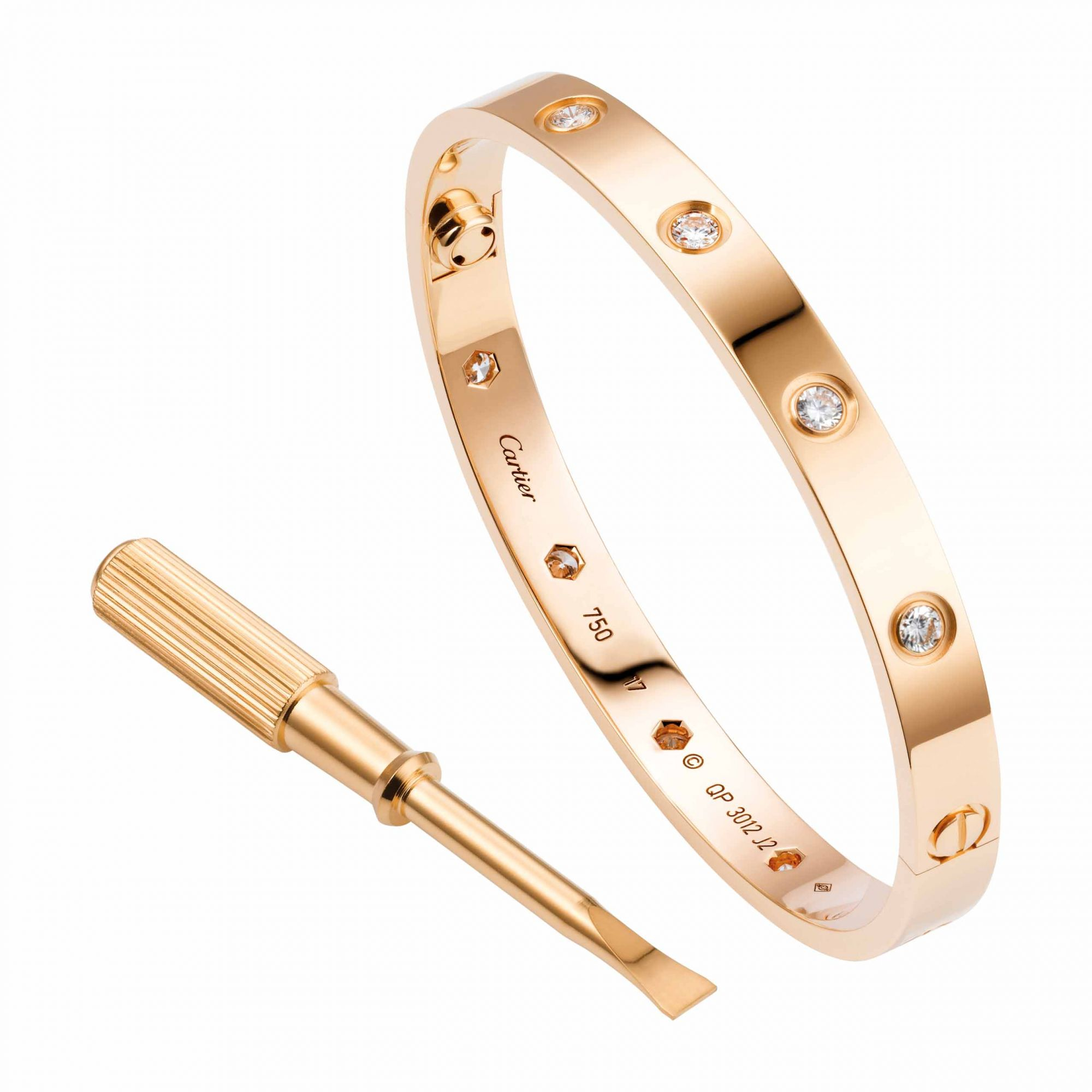 f2cdb5a4db035 10 Things You Didn't Know About the Cartier Love Bracelet ...