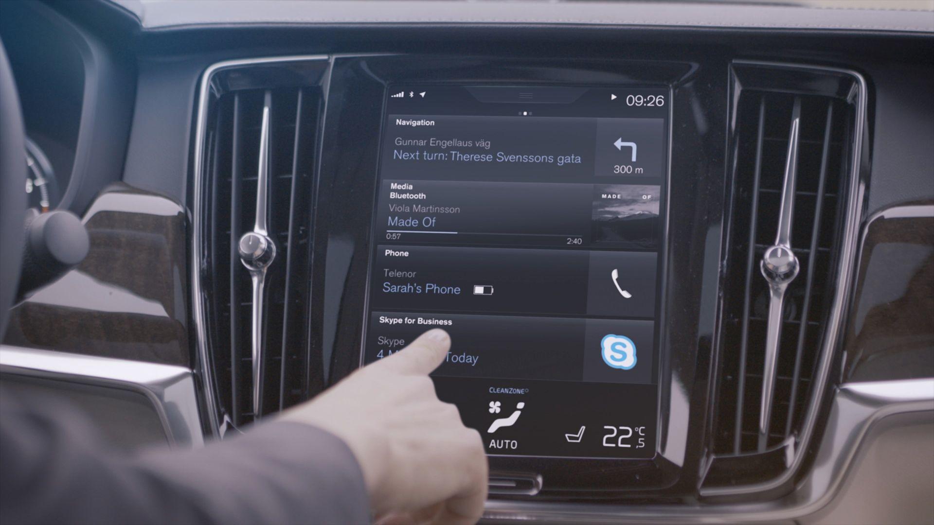 Volvo x Microsoft Skype