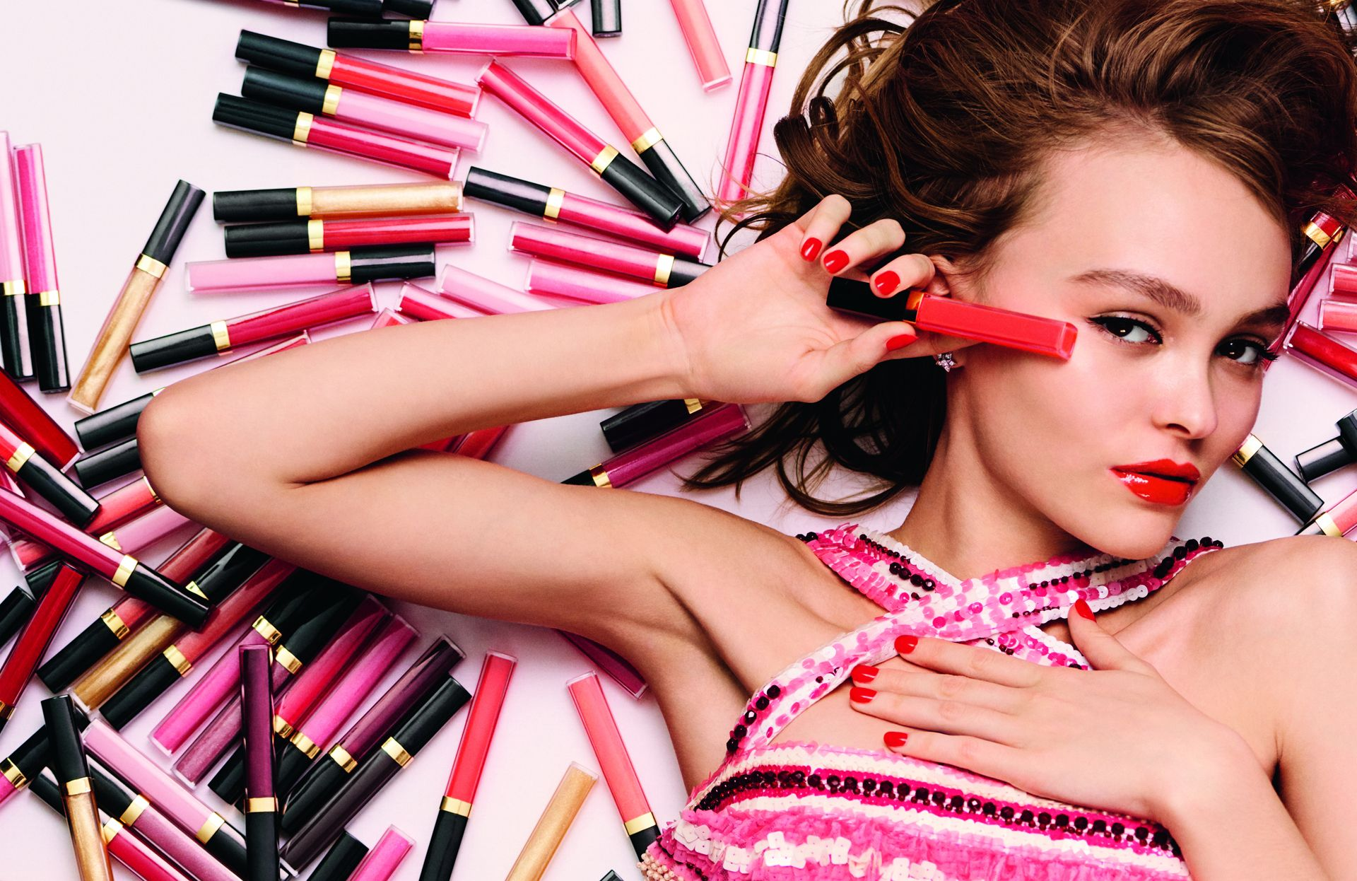 Chanel announces Lily-Rose Depp as the face of Rouge Coco Gloss