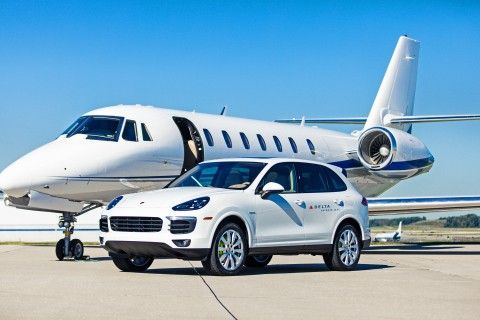 Delta Adds Porsche Panache To Its Private Jet Service