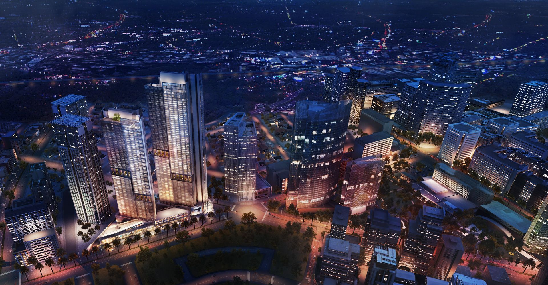 On the Rise: Park Central Towers