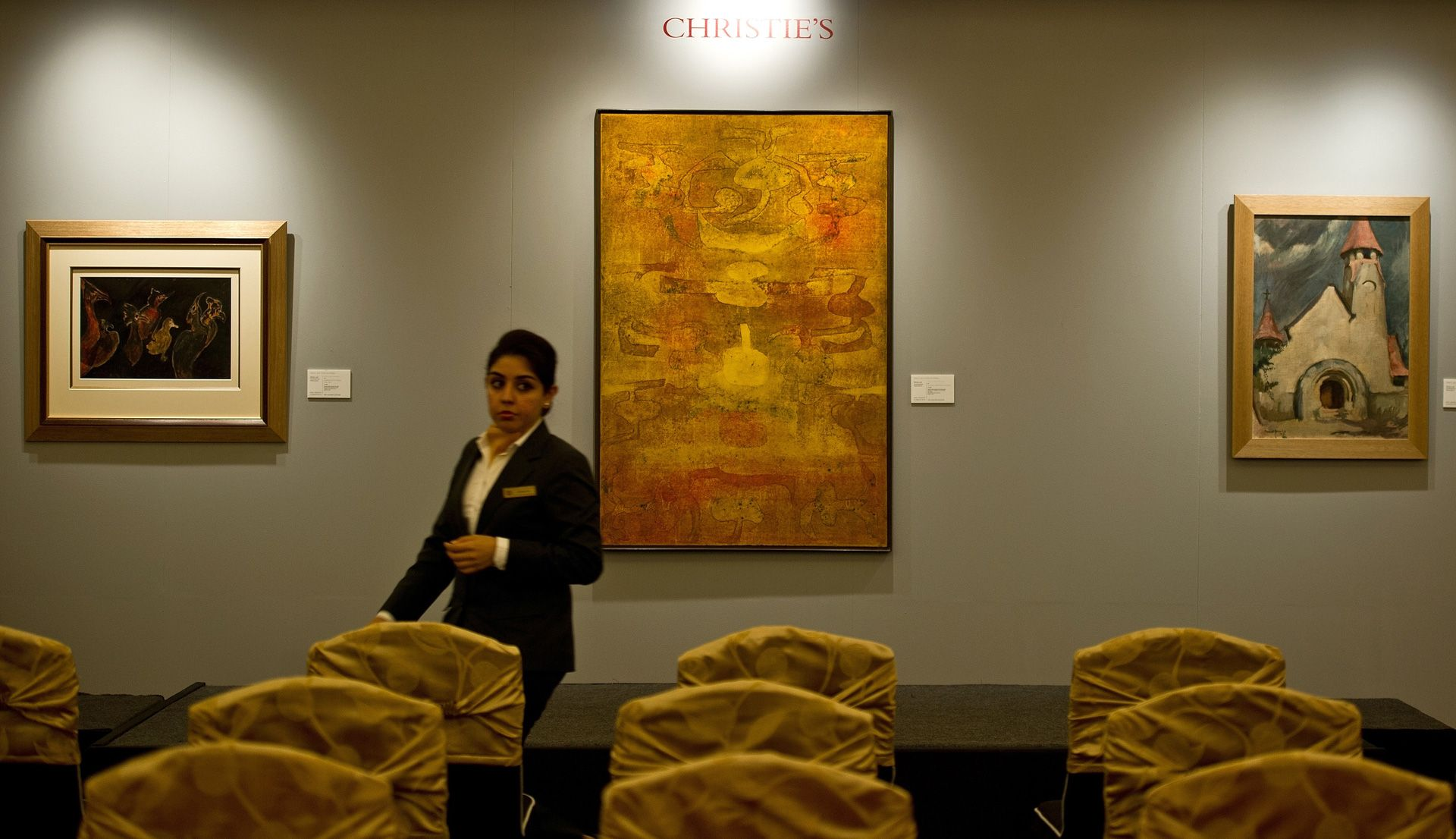 Indian painting sells for record $4.4 mn at Christie's auction