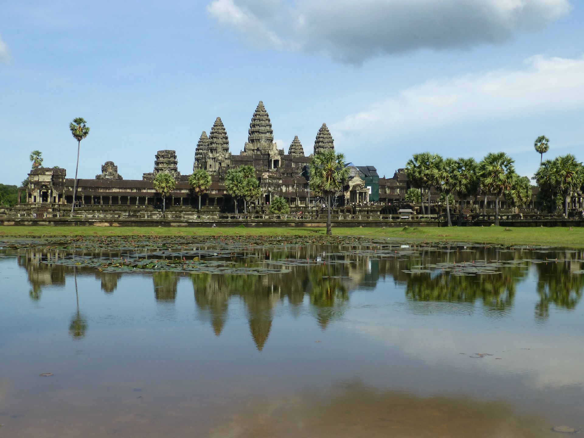 The Temples at Angkor top the list of 500 best places to see on the planet
