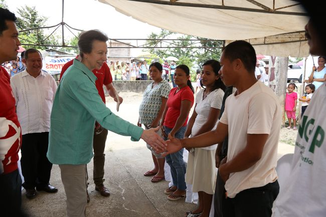 The Royal Visit: Princess Anne and Save the Children Philippines