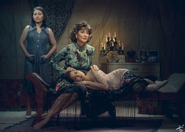 Cherie Gil Portrays High Society Life in PETA's Arbol de Fuego