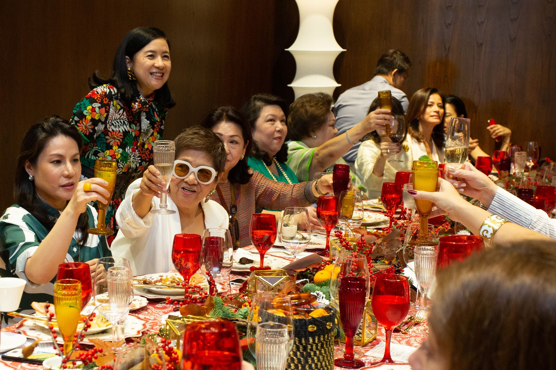 Philippine Tatler and Living Innovations' Holiday Brunch