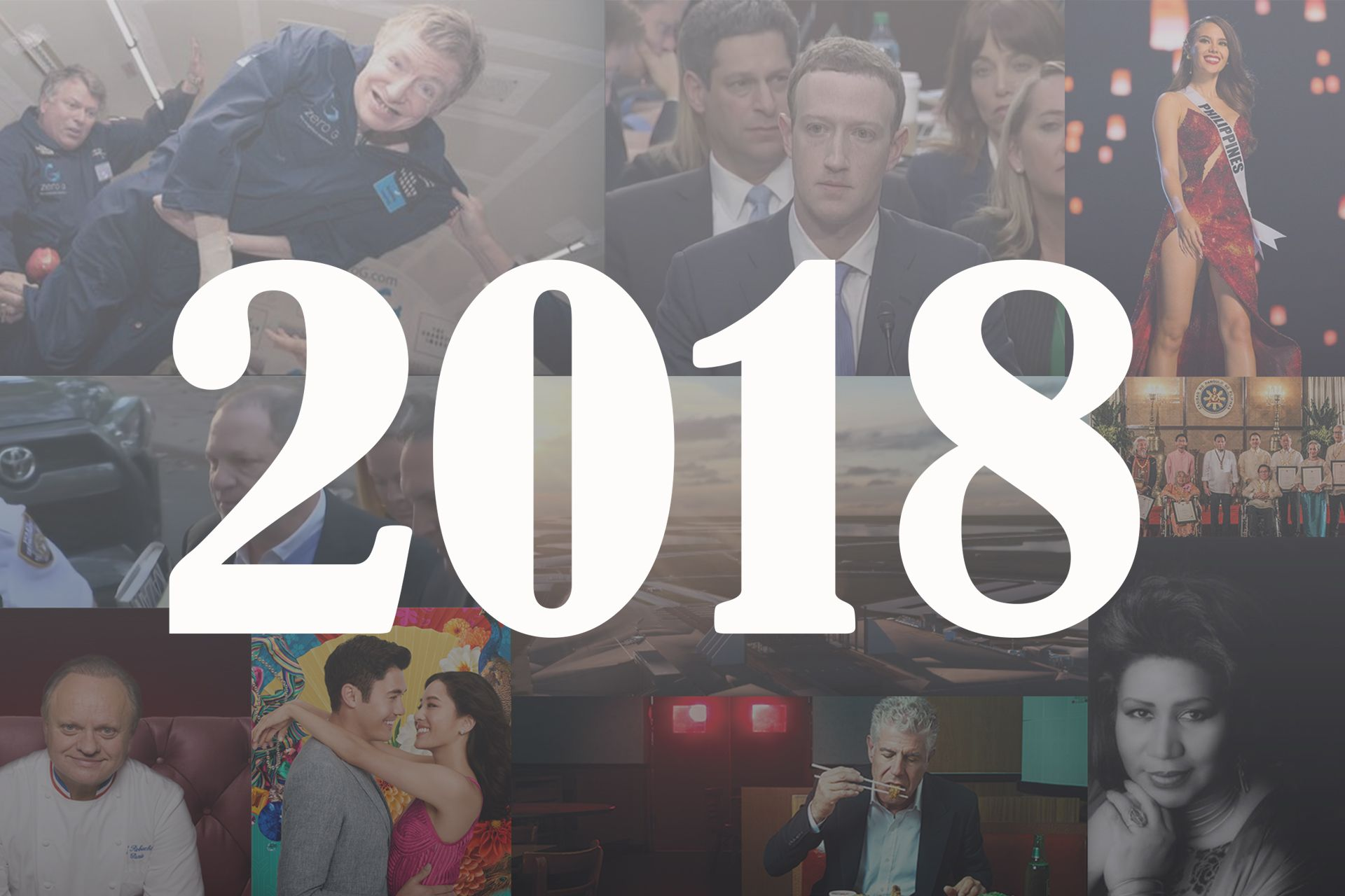 Highlights of 2018 Here and Around the World