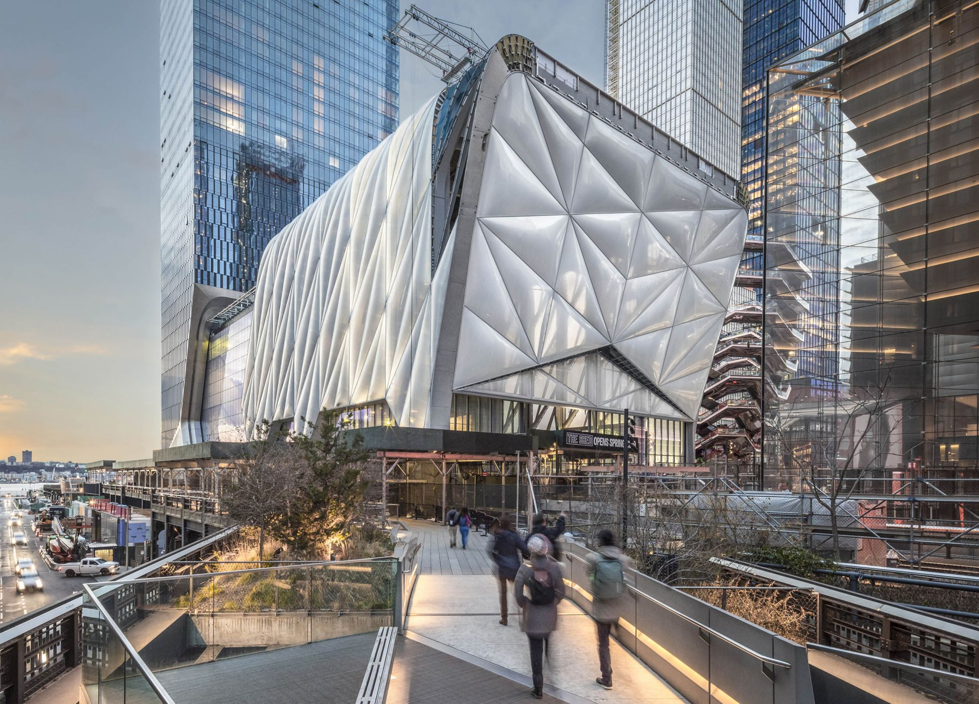 The Shed, new NY arts venue, sets April opening