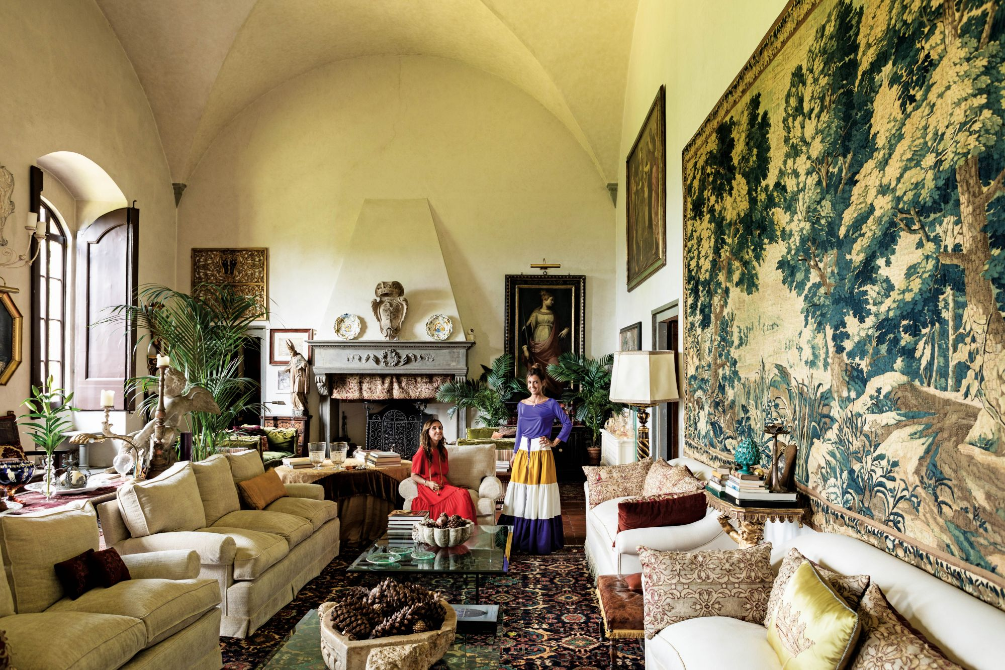 Home Tour: Villa Lo Strozzino, A Historic 15th-century Property of Fagioli Sisters in Florence