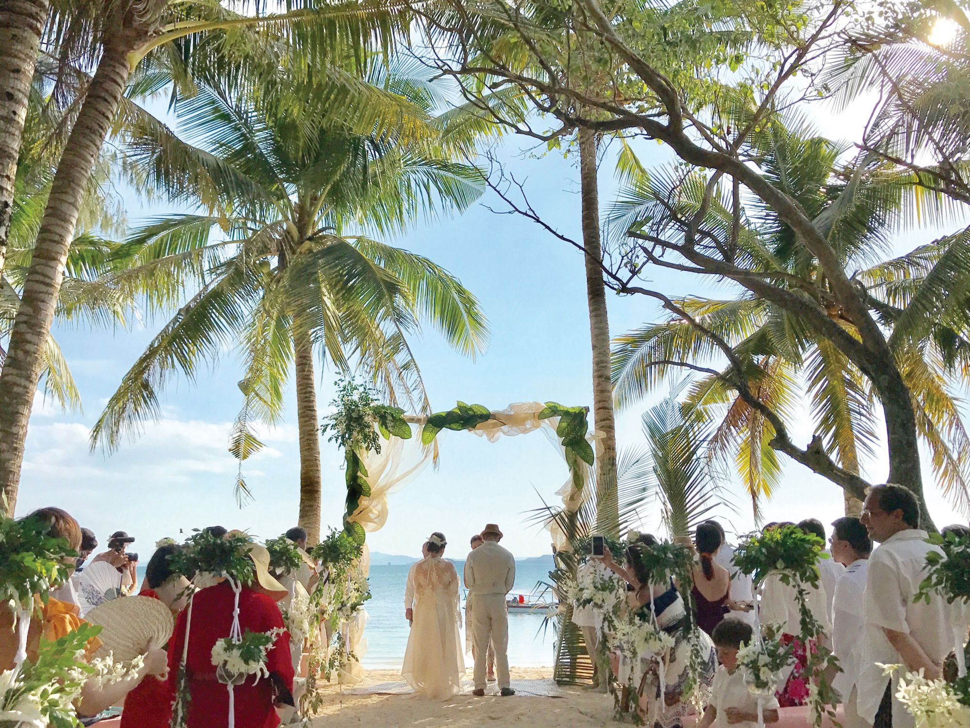 Beach Vows: Jessica Tan-Gan Ties The Knot With Earl Yap