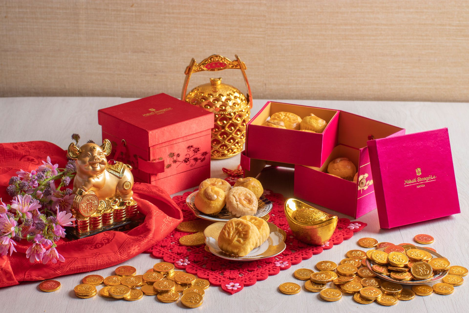 Shang Palace Welcomes The Year Of The Earth Pig With Auspicious Treats