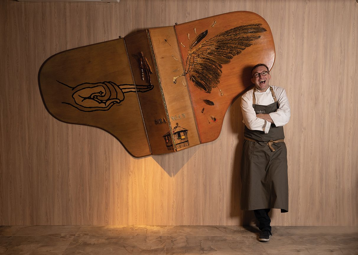 Who is T.Dining's Most Inventive Chef?
