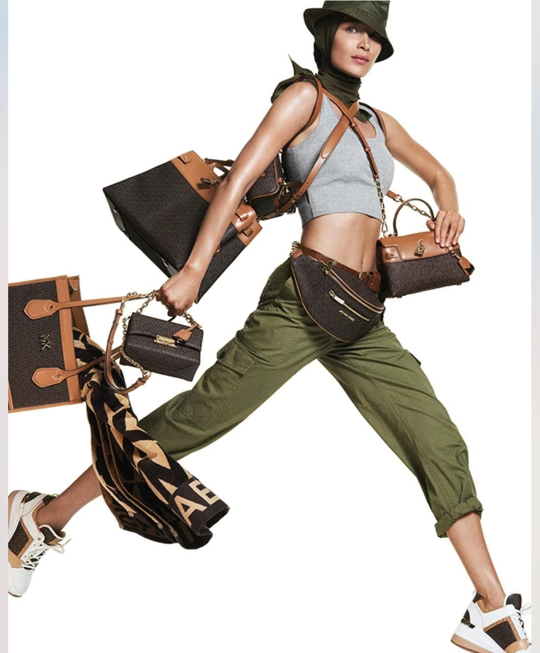 Michael Kors Unveils Spring 2019 Ad Campaign Starring Bella