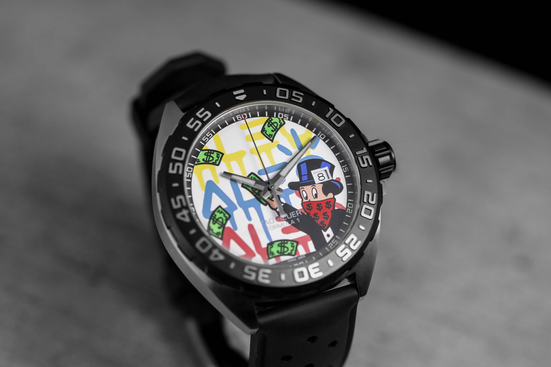 TAG Heuer Presents Two Watches With Designs by Alec Monopoly