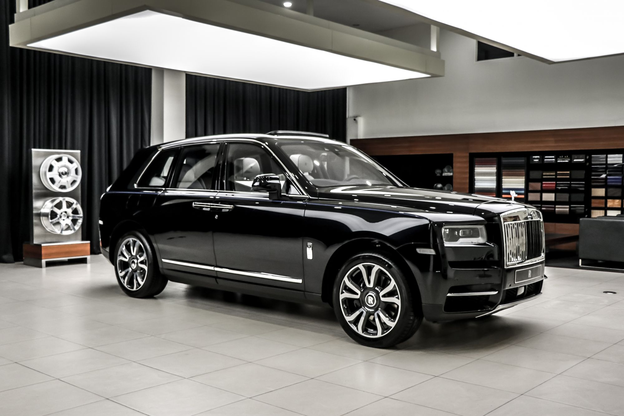 A Look Into The New and Coveted Rolls-Royce Cullinan