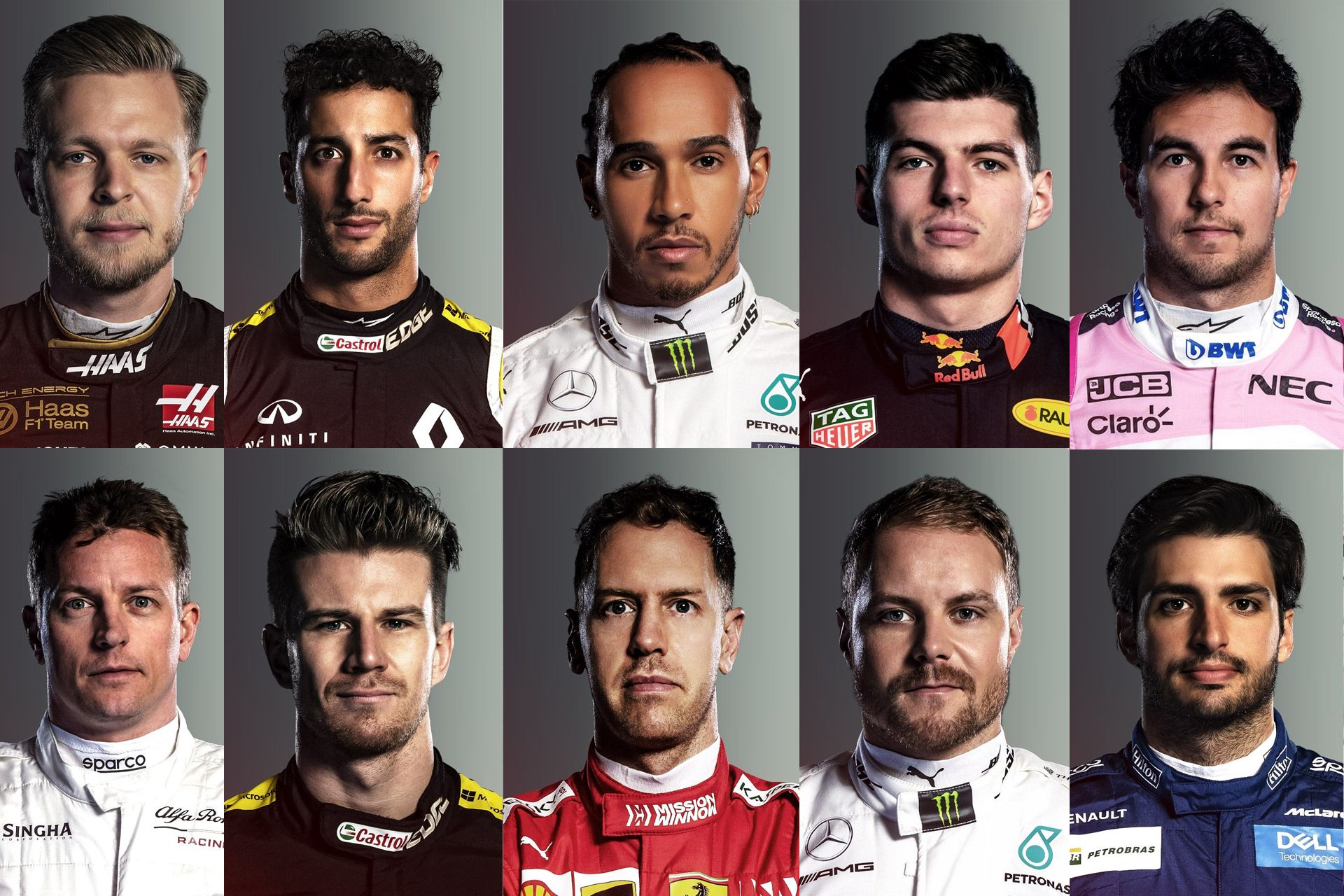 Get To Know This Year's Formula One Drivers