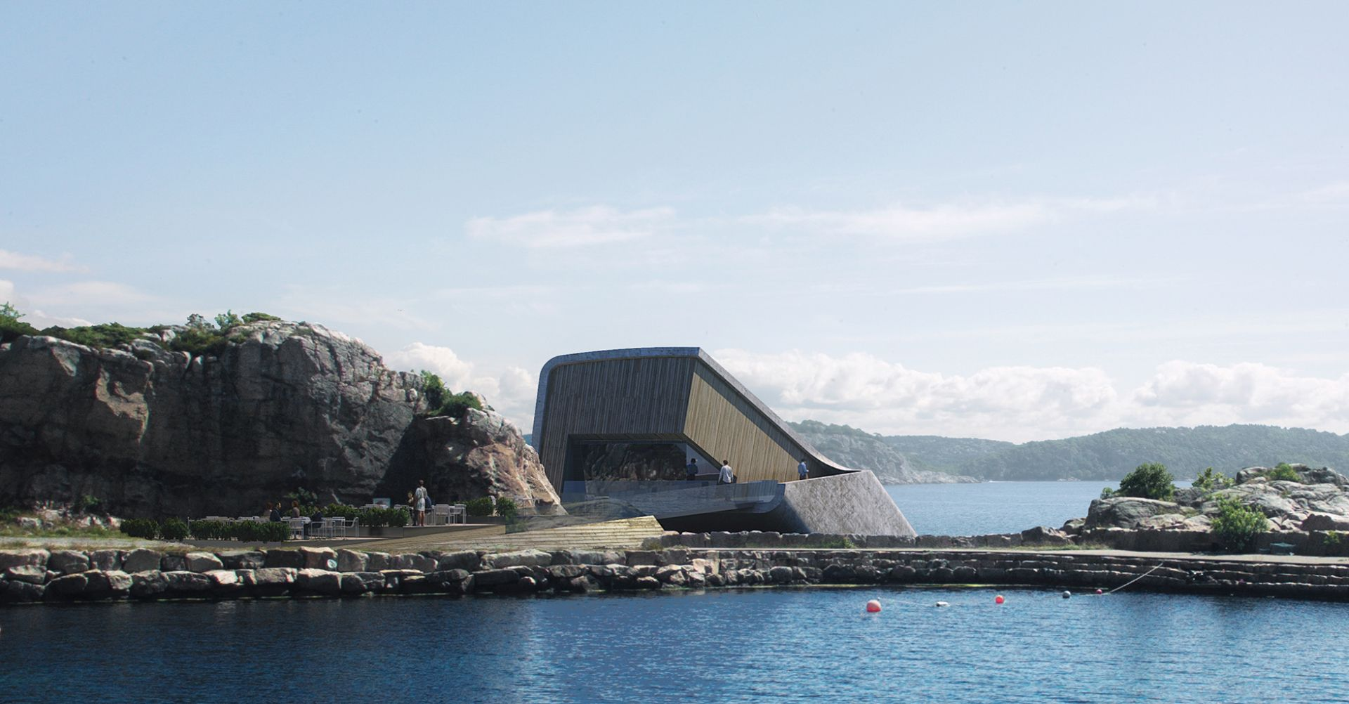 World's largest underwater restaurant poised to make remote Norwegian coast culinary hotspot
