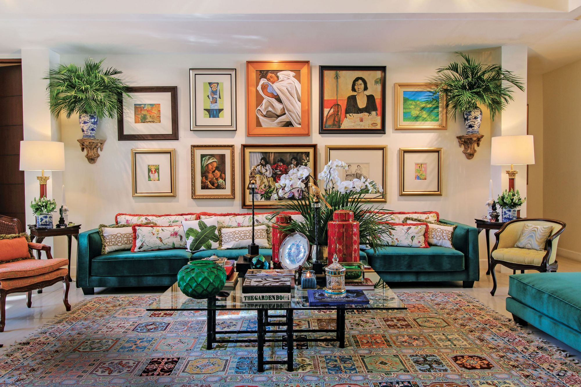 A Look Inside Maritess And Renato Enriquez S Colourful New Home Tatler Philippines