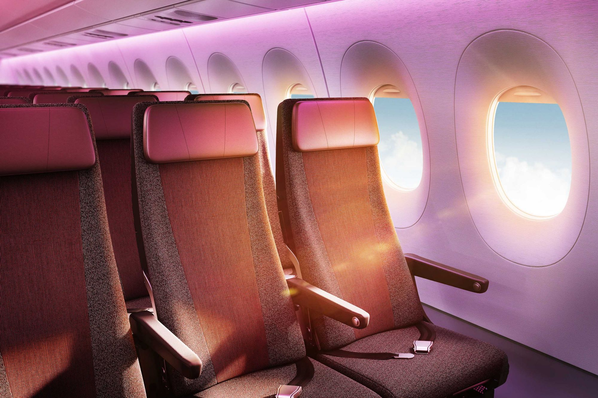 With Seats Inspired by Luxury Fashion, This Aircraft Refines Flying In Style
