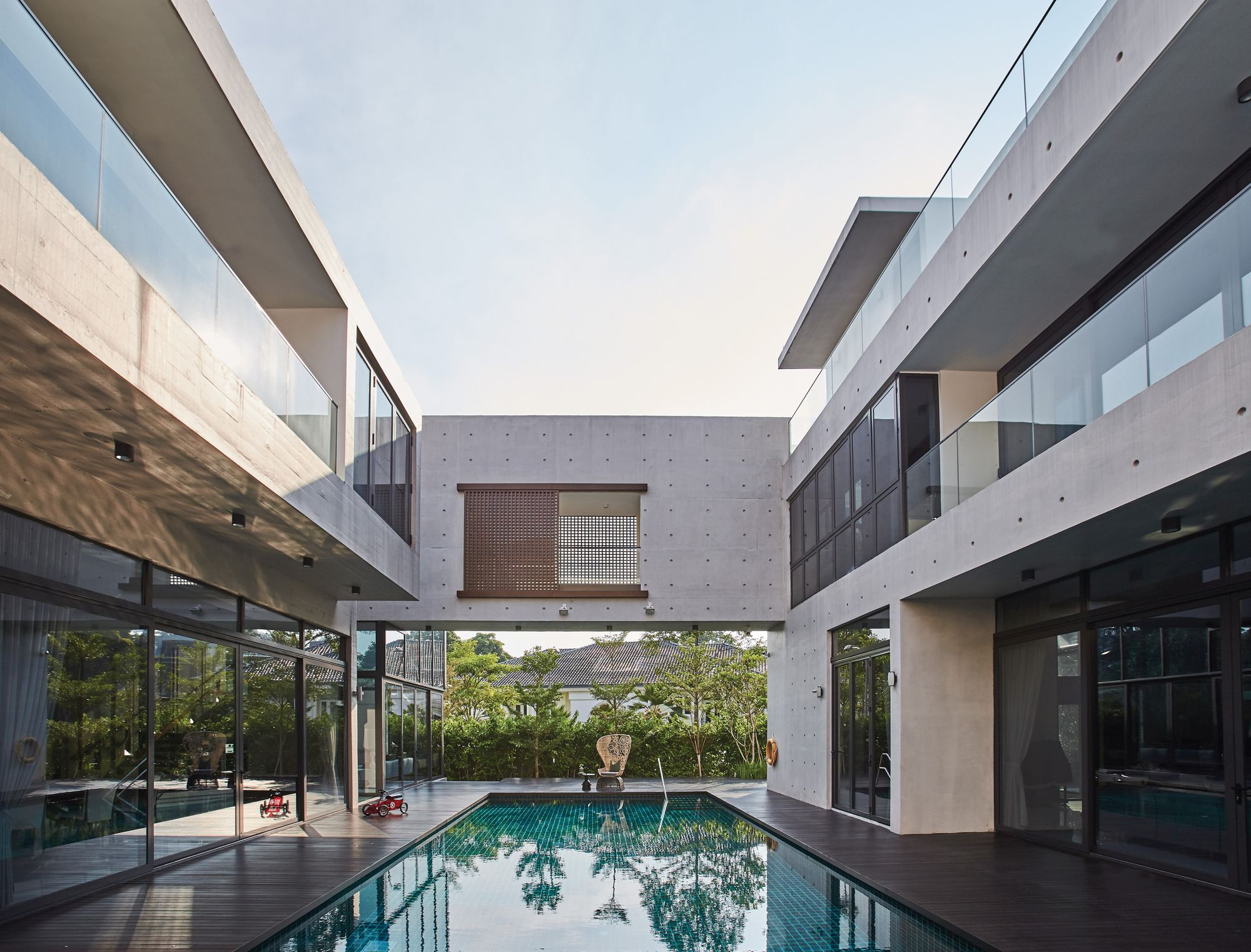 Home Tour: This Multi-generational Home In Singapore Fuses Modern Design And Practical Style
