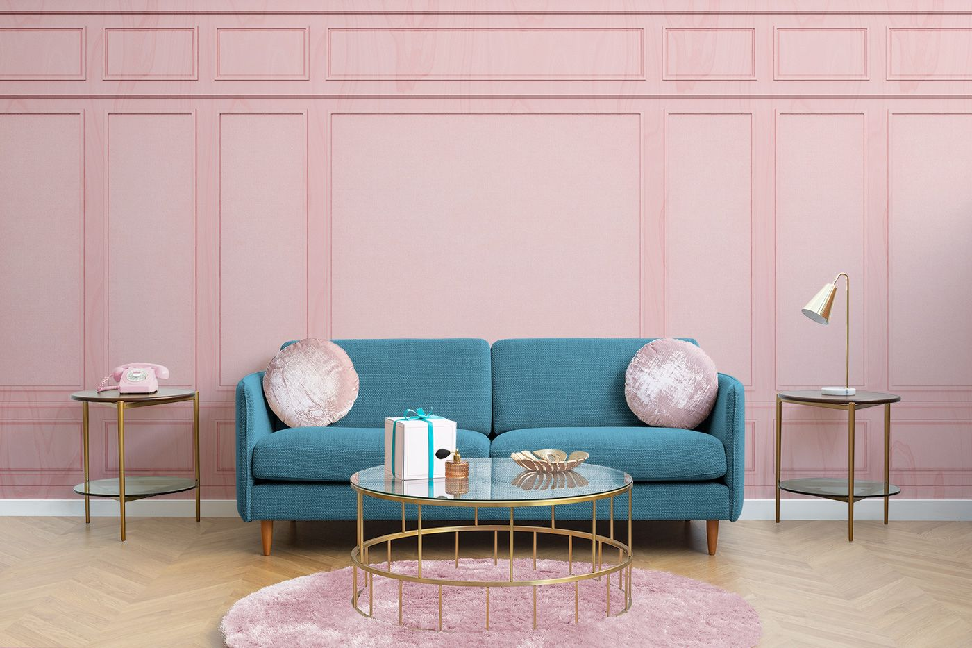 MuralsWallpaper Launches Collection Inspired By Wes Anderson