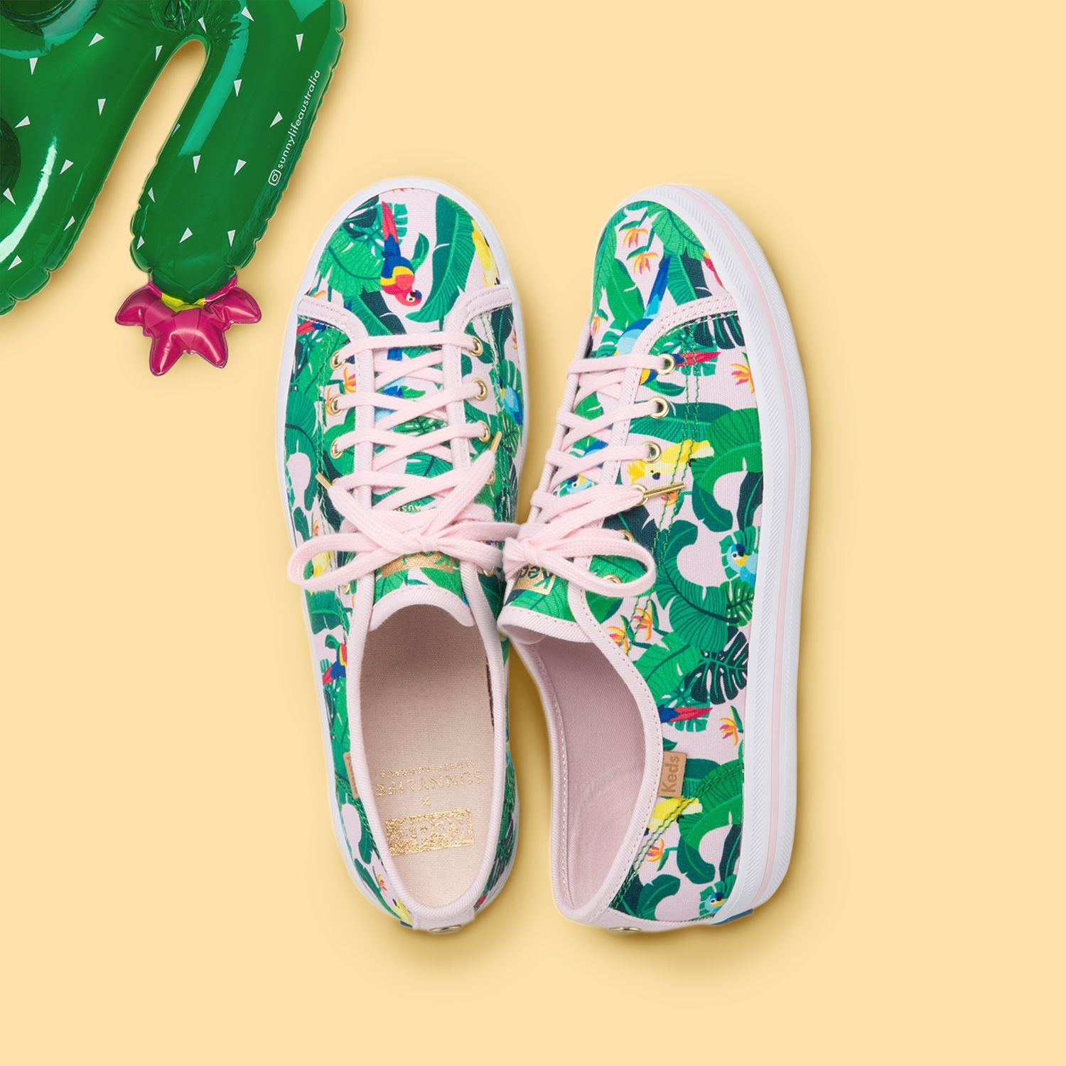 Keds x SunnyLife Collaboration Features Chic, Vibrant Footwear Designs For Summer