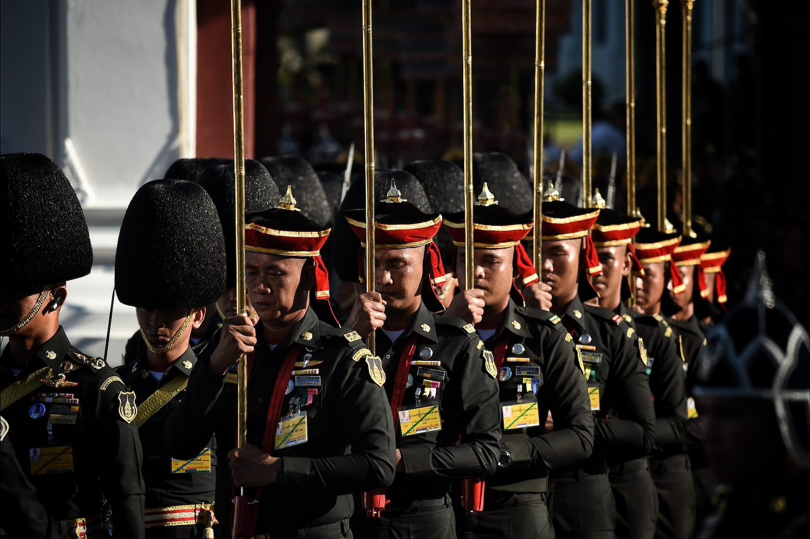 Pomp and Tradition Mark Rehearsal For Thai King's Coronation