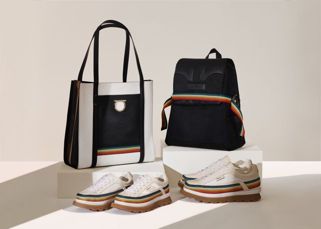 A Rainbow of Colour For Salvatore Ferragamo's New Sustainable Capsule Collection
