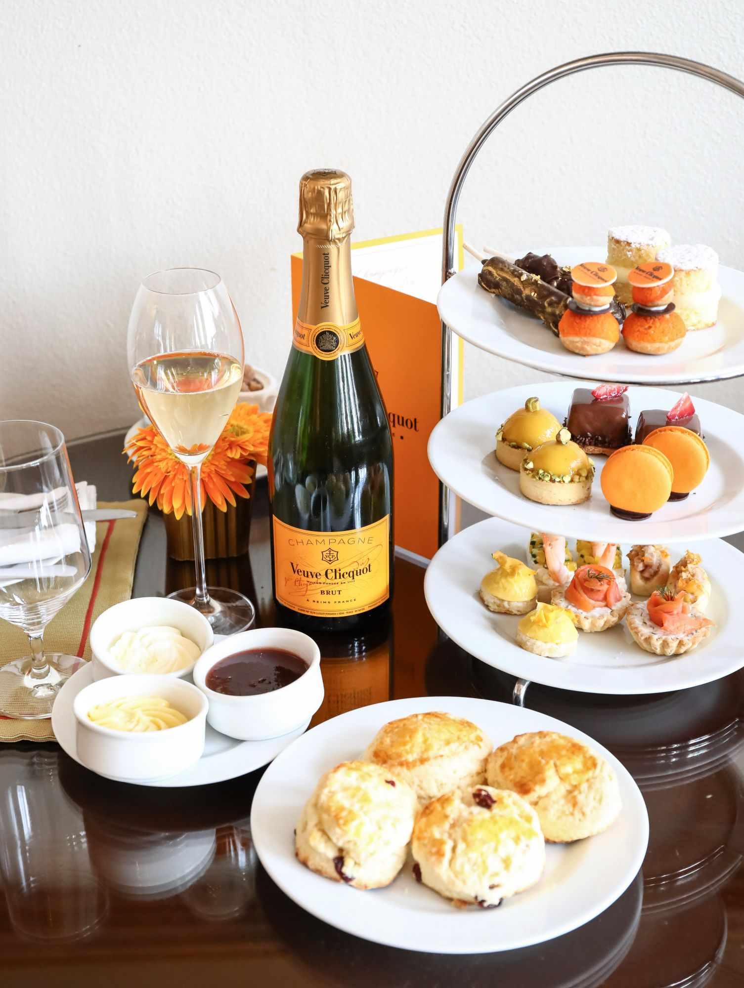 Champagne and High Tea? Why ever not!