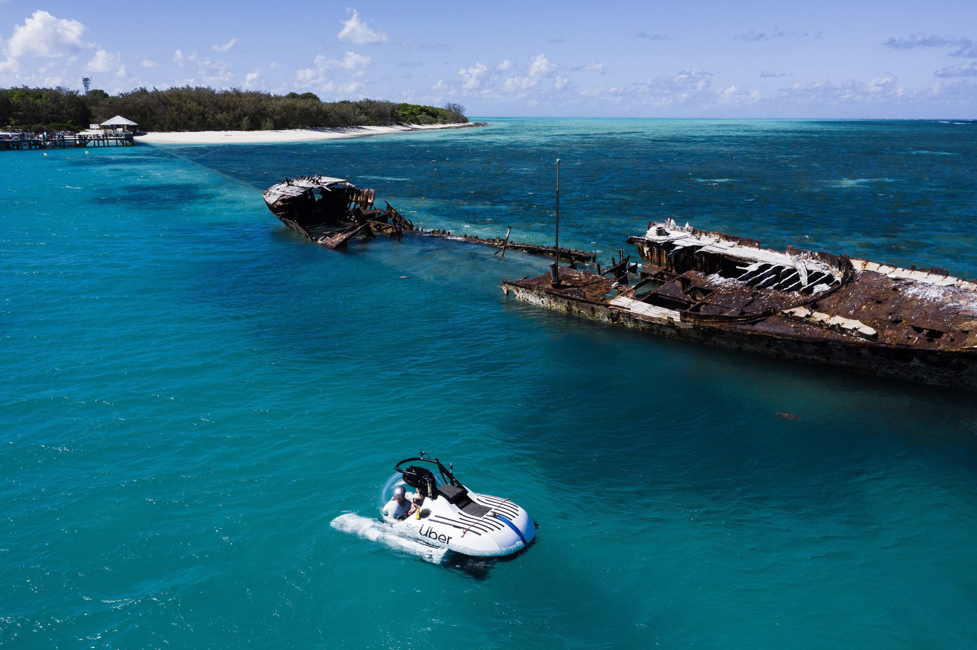 """ScUber"" Launches Submarine Trips To Great Barrier Reef"
