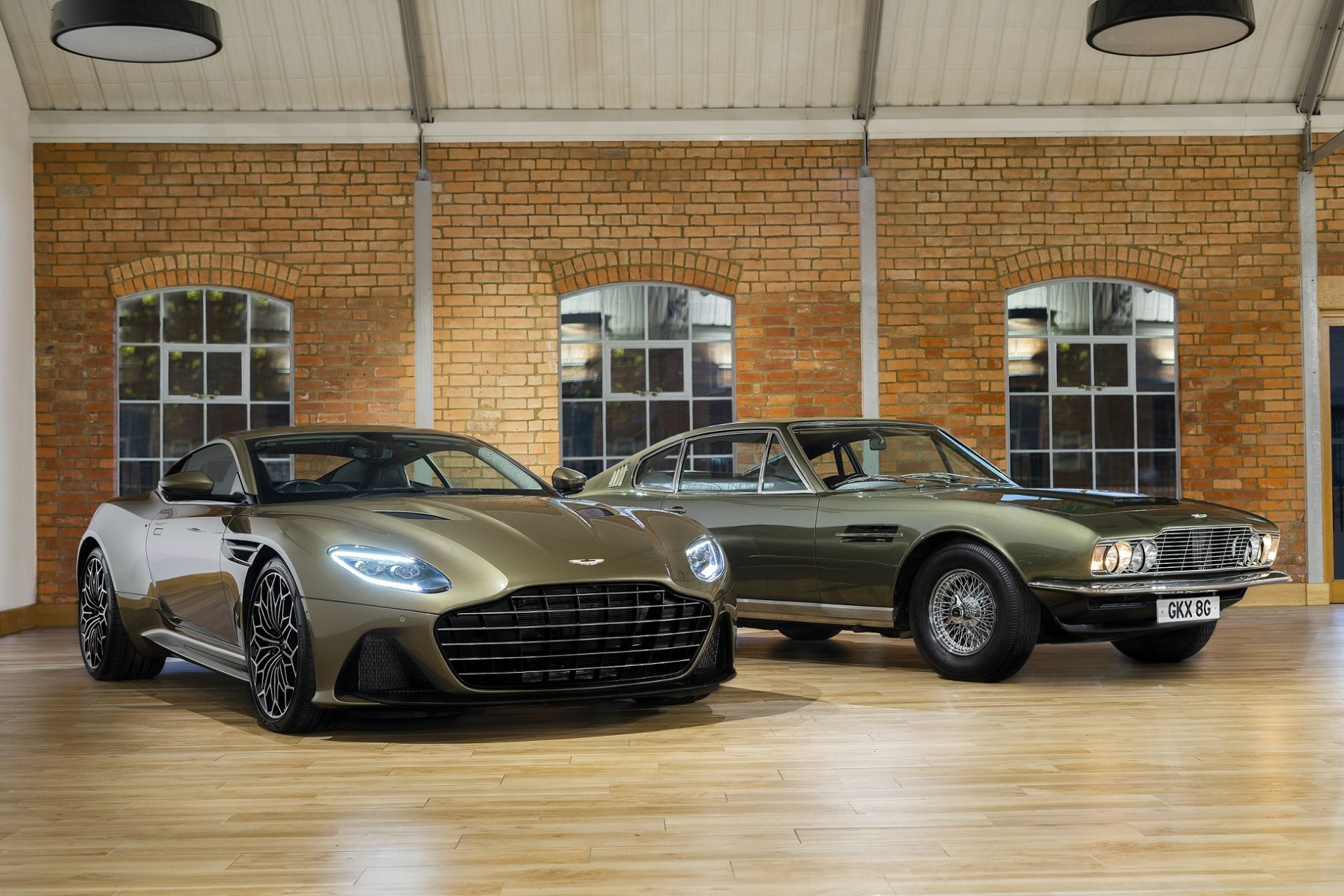 Special Edition Aston Martin DBS Superleggera Pays Tribute To James Bond